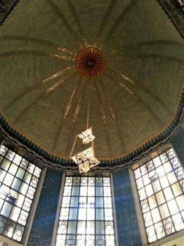 Ceiling at the State Capitol Building, Lincoln, NE by d4rkhe4vn