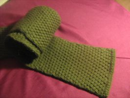 Green Men's Scarf--For my Fitz by LadyFitz