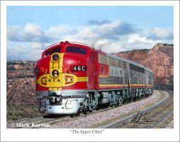 The Super Chief by markkarvon