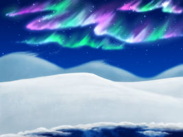 Aurora - Background for download by Magicionary