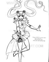 SailorMoon Wand Forward Attack by alaer