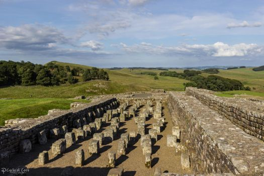 Housesteads Roman Fort - Granary 2 by CyclicalCore