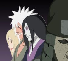 naruto 634  The Sannin by bangalybashir