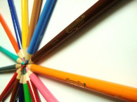 Pencil circle 3 by Laura-in-china