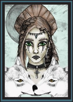 Lady of the Wolves Remake by TaraStonefire