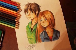 Harry and Ginny by Nasuki100