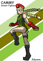 Cammy Street Fighter V by ObsidianWolf7