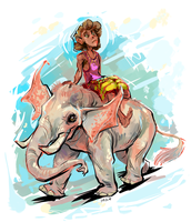 Support Fictional Elephants by FablePaint