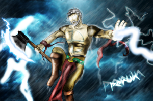 Perun- god of thunder