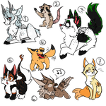 ~ Silly adoptables ~ (closed) by Sokoz
