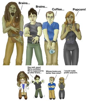 SGA Zombies by Calcitrix