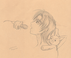 Ryuichi sketch by jcho