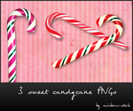 sweet candycane - png by rainbows-stock