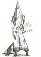 Pyramid Head by AdhyGriffin