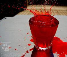 Blood Splash. by GoldenBulletx