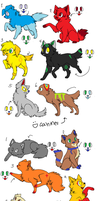 Dog+Cat Adoptables :CLOSED: by Fluffy-Bearr