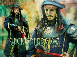 Captain Jack Sparrow by hidingmymess