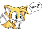 Tails 'YAY' by SonicsChilidog