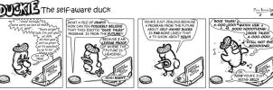 Duckie the Self Aware Duck 48 by CptMunta