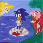 THE BIRTH OF SONIC. by SonicsChilidog