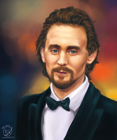 Tom Hiddleston by StarshipSorceress