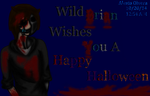 Wild Brian Wishes A Happy Halloween by Dark-Soulest