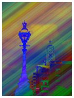 Oxo Tower Technicolor by hamsher
