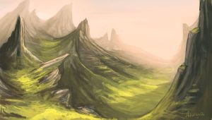 mountains by Namisis