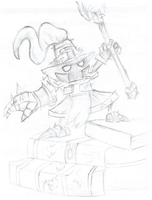 Veigar -One Hour Sketch by pkmnyab