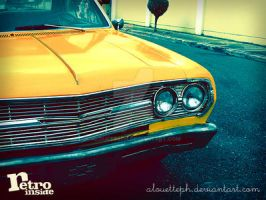 Vintage Car 2 - Retro Inside by alouetteph