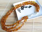 Amber Necklace by MielDesigns