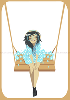 Flower Swing by xineli