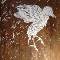 cut paper stencil work by able03