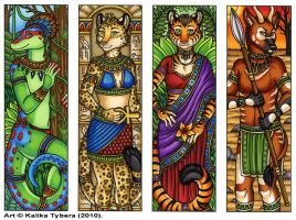 Bookmarks 2010 - Set 2 by kalika-futago
