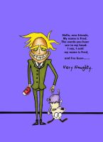 Freaky Fred by Sardonicus-Smiles