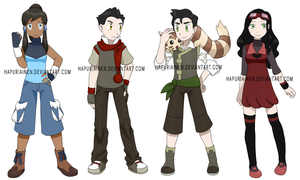 Pokemon team Korra
