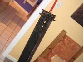 My Buster sword :D by lolcats92