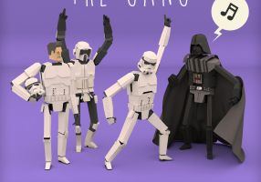 Vader and the Gang DETAIL by ehnoi