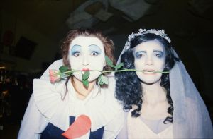 Corpse Bride and The Red Queen of Hearts by deviant-caroline