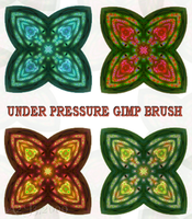 UNDER PRESSURE GIMP BRUSH by a2j3