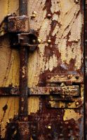 yellow and rust and latches by jnicolini12