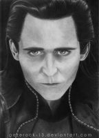 Loki -The Avengers- Portrait by GazeRock-13