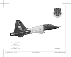 T-38A Talon by Hun100D
