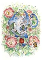 Rose Hip Dragon by angelac