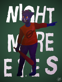 Nightmare Eyes by Awsomeamazingam
