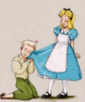 Jonas and Alice..in Wonderland by FroudTheXenophile