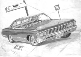 Dean's Impala by MadMike27