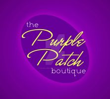 The Purple Patch Boutique Logo by angelamichelle21