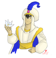 Disney Princes: Aladdin by tsukinoyagami