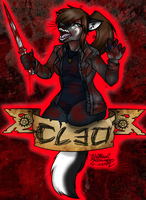 COMMISSION: Cleo The Hunter Badge by TheHuntingWolf
